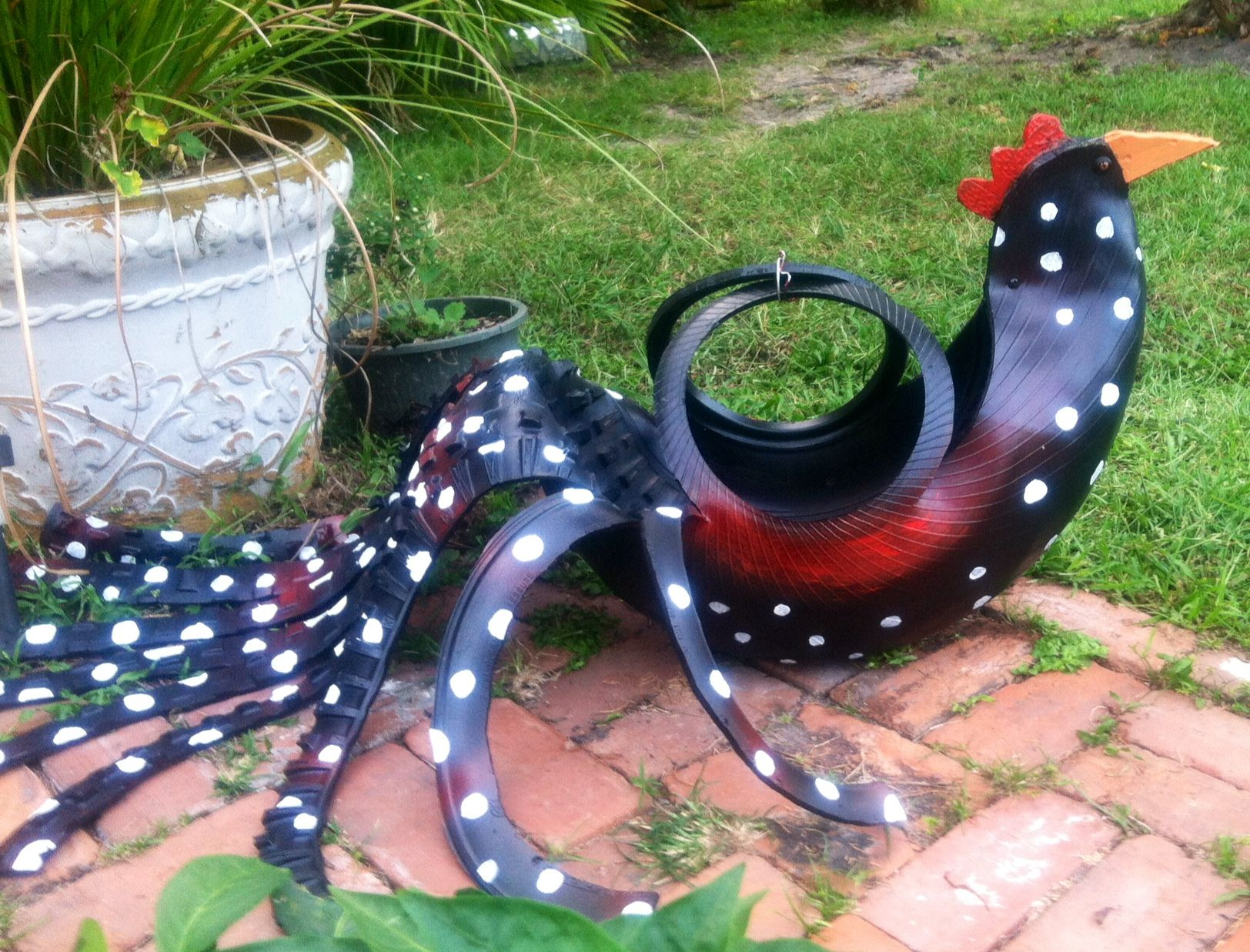 pin by miranda whitley on rubber pottery planters and
