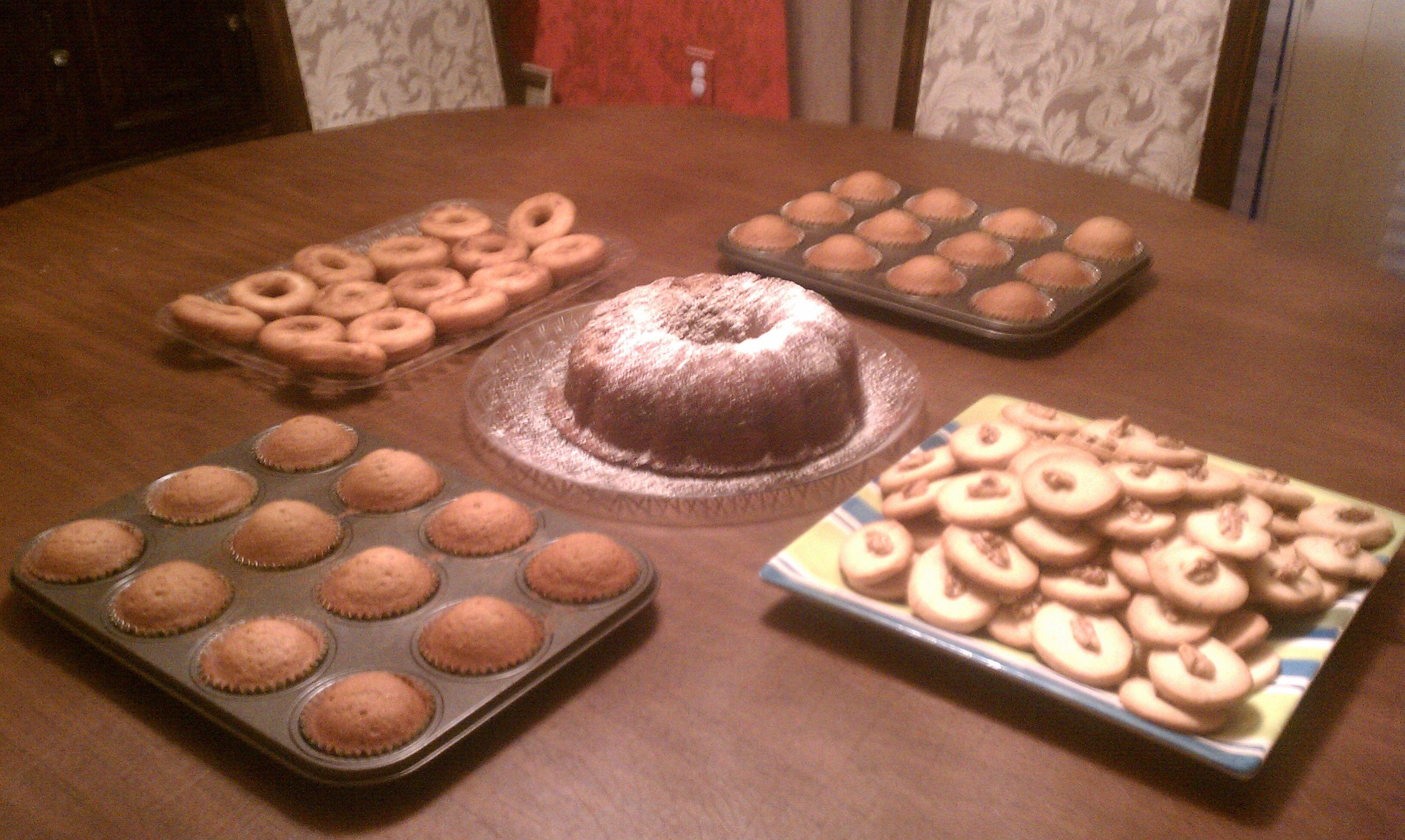 rosh hashanah sweets