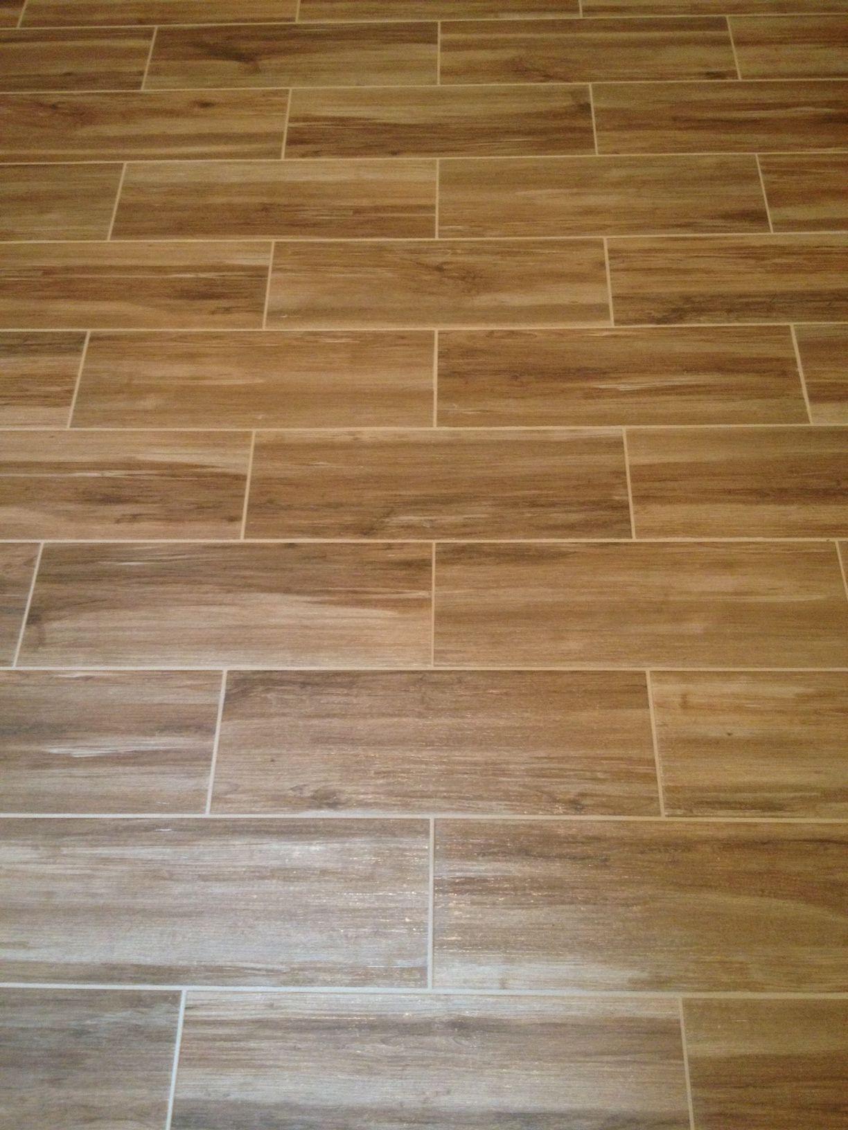 Wood Porcelain Plank Tile Home Remodel Pinterest