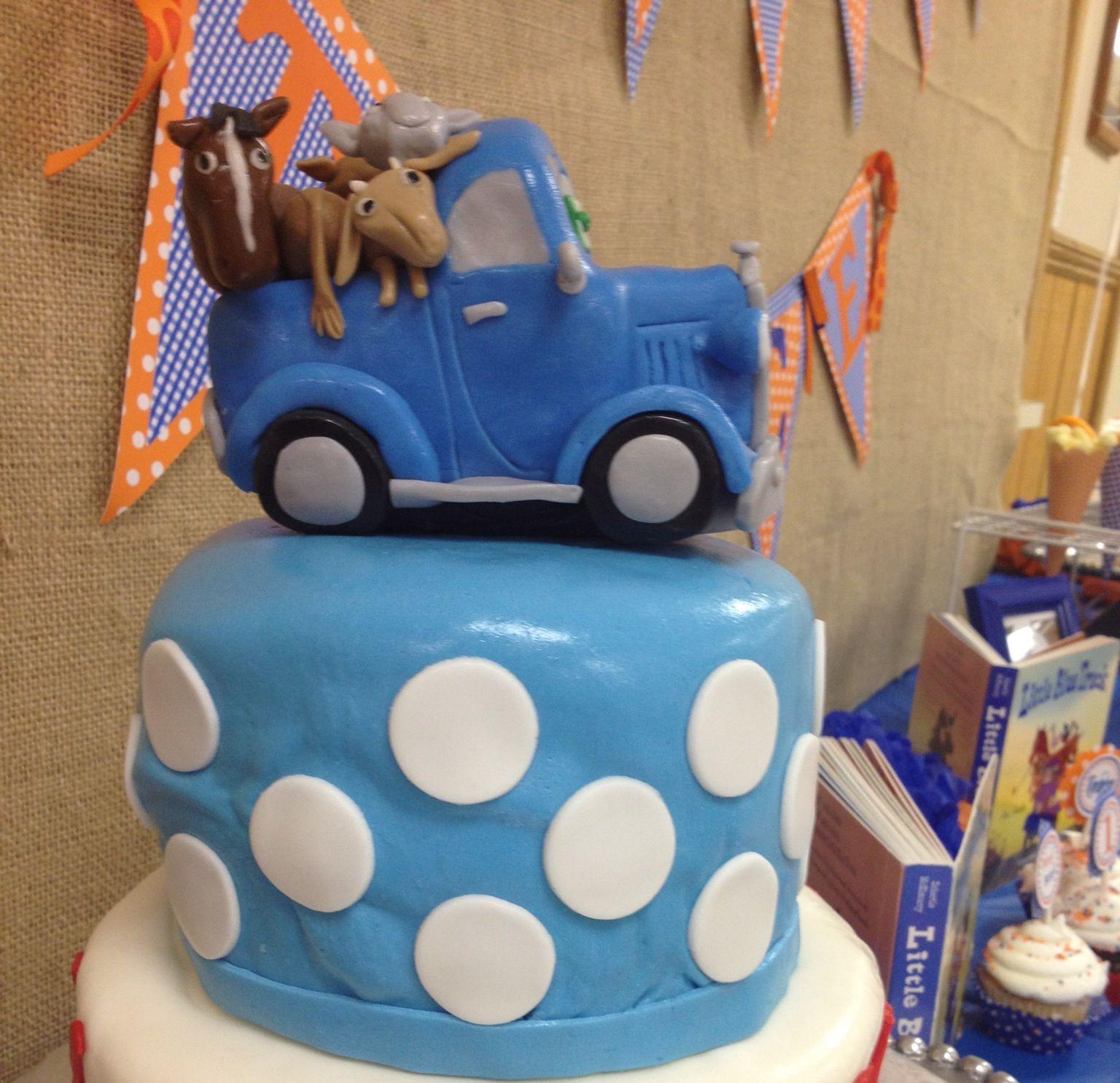 cool cake  Little Blue Truck  Pinterest