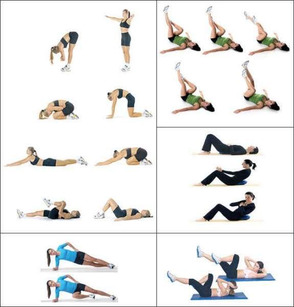 Упражнения для похудения в домашних условиях за неделю фото 285