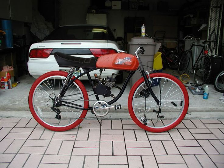 Diy Motor Bicycles Motorised Bike Motorized Bicycle