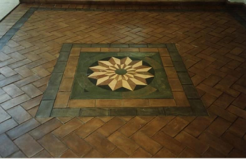 Tile Floor Medallion Mosaics Pinterest