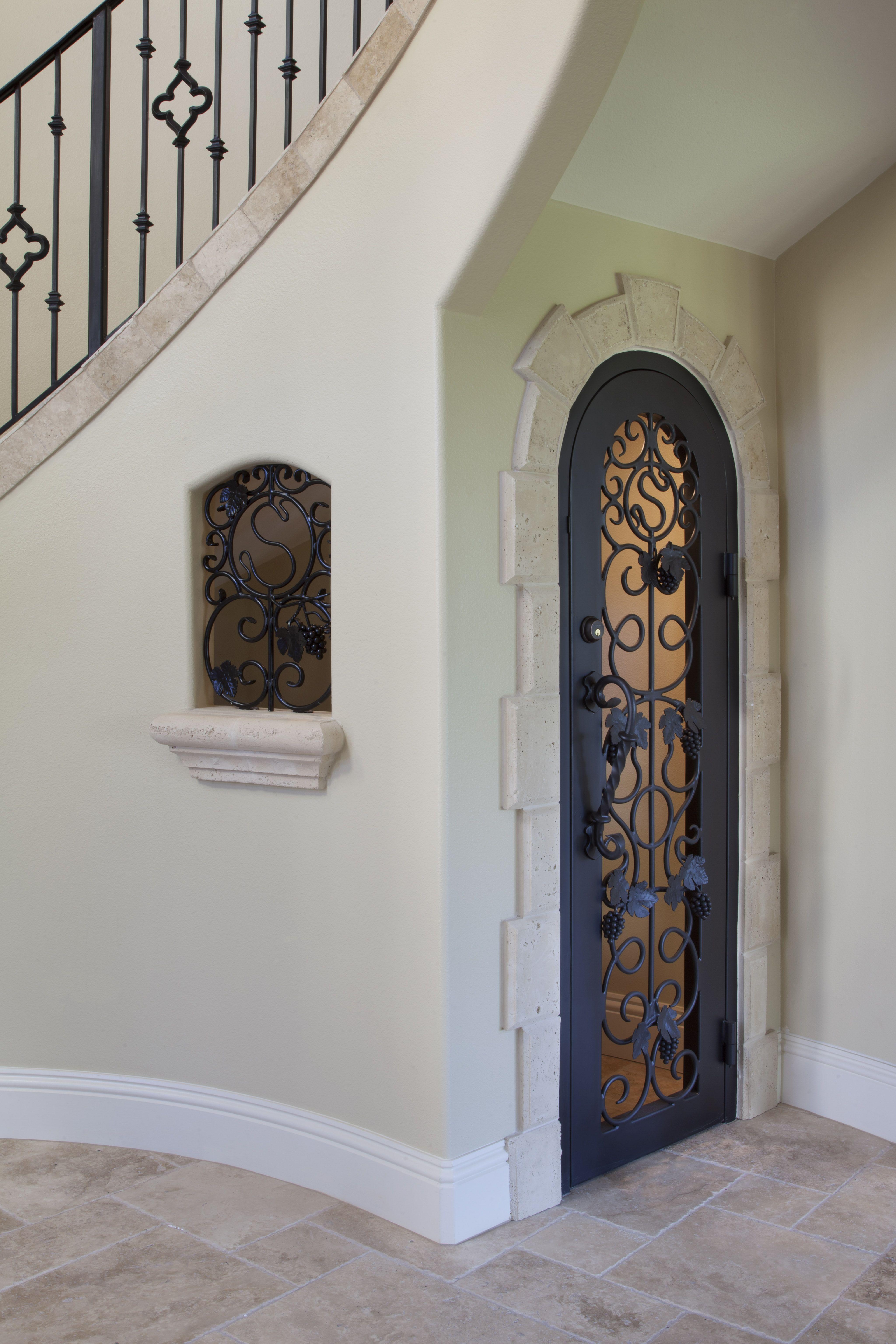 Wine closet design interior design ideas pinterest for Door under stairs