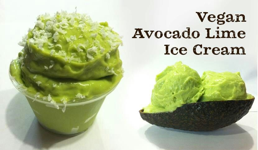 Avocado And Lime Ice Cream Recipe — Dishmaps
