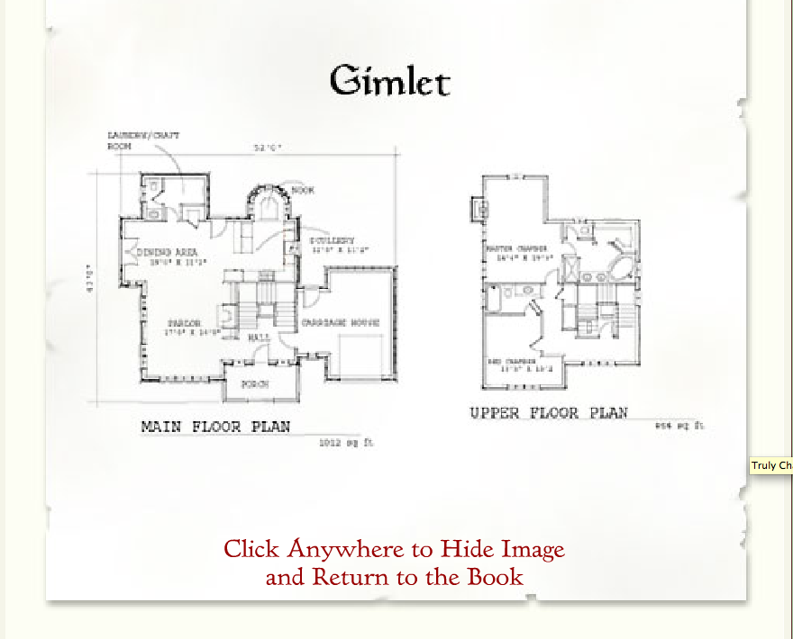 Storybook homes gimlet floor plan cottage plans pinterest for Storybook cottages floor plans