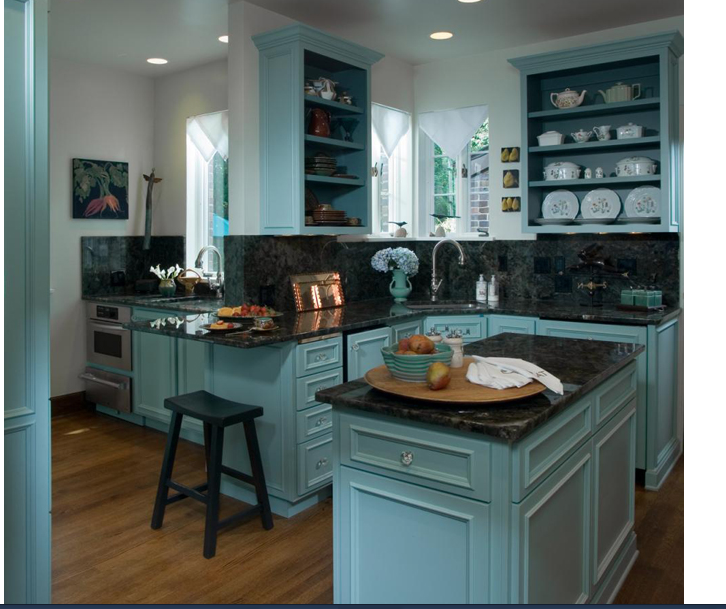 Turquoise Cabinets KITCHEN Pinterest