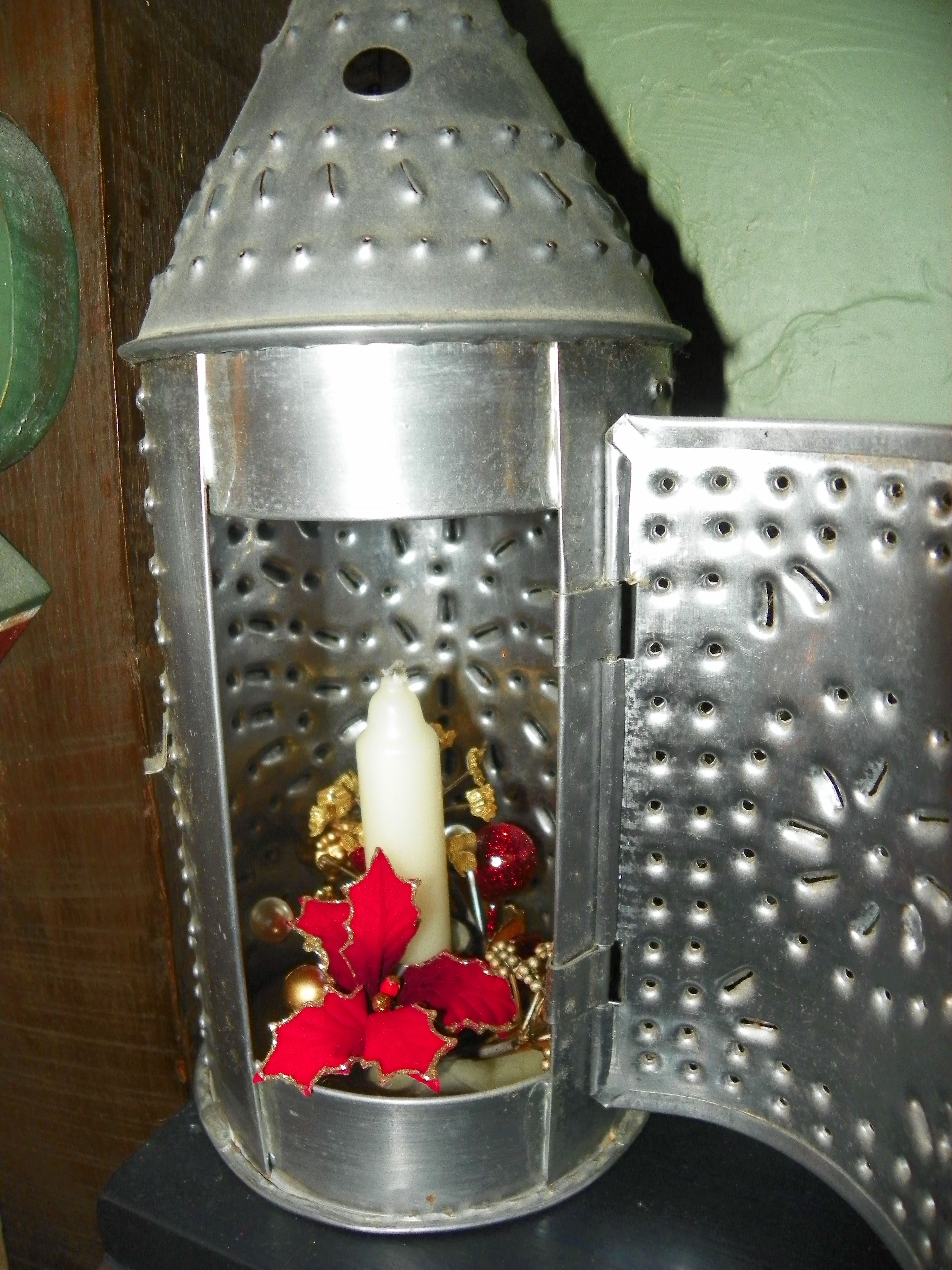 Paul revire tin punch candle holder tinwork pinterest - Punched metal candle holder ...