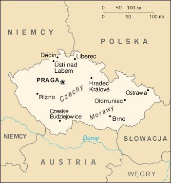 mapa czech Mapa Czechy | Architektura | Pinterest | Czech republic mapa czech