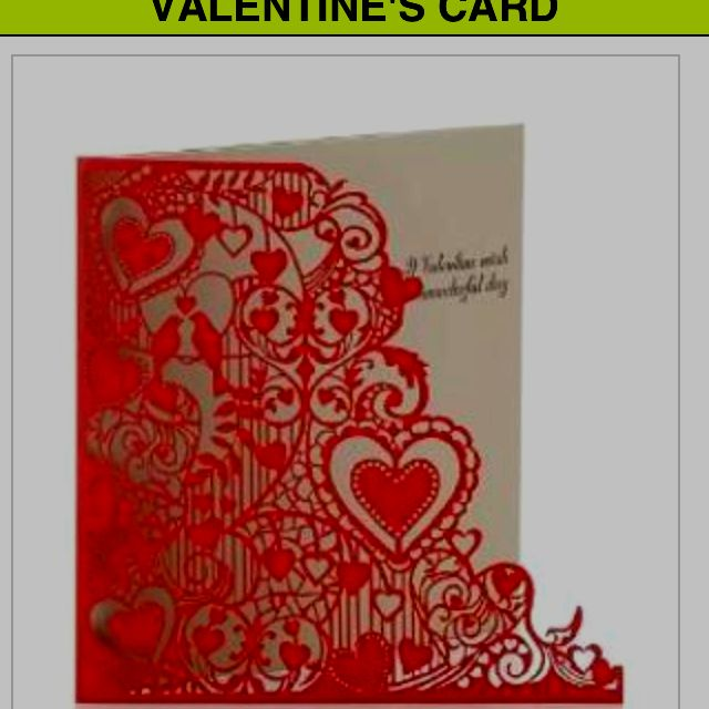 Marks And Spencers Greetings Card Lots Of Lovely Laser Cut _laser Cut Greeting Cards