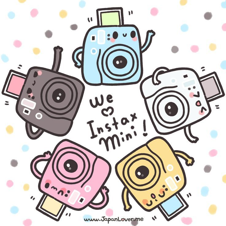 Image result for instax mini 8 cartoon