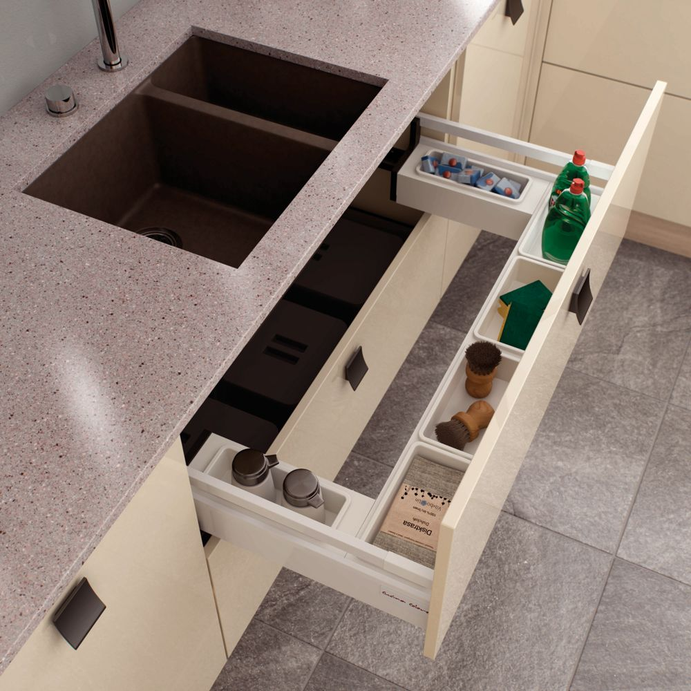 The Ideal Kitchen Under Sink Drawers: Under Sink Drawer