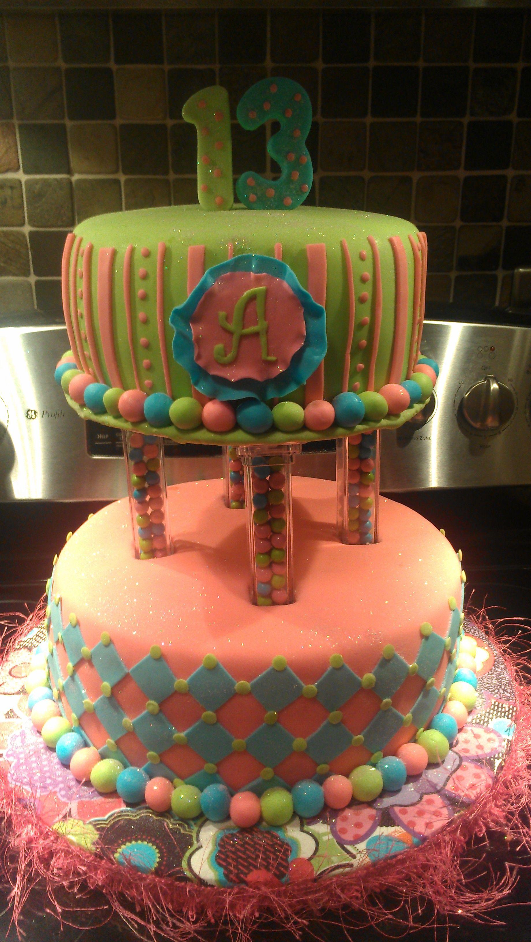 Happy 13th birthday cake ideas 35382 13th birthday for 13th birthday party decoration ideas