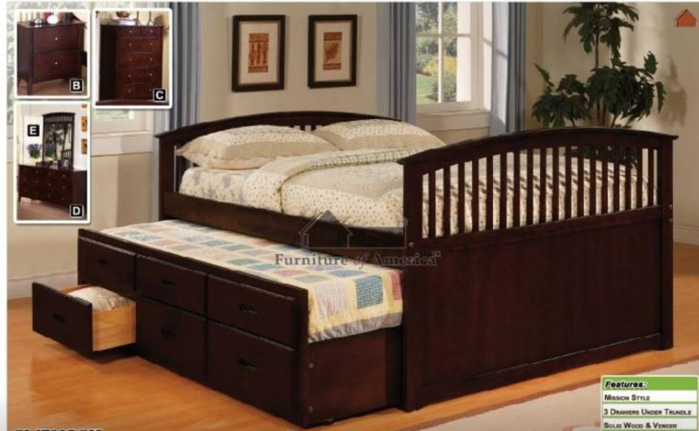 Full Queen With Trundle Bed Kids Room Pinterest