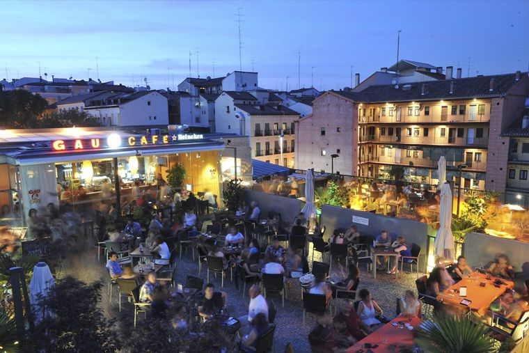 Gau Café (Lavapiés) - azotea restaurante Madrid