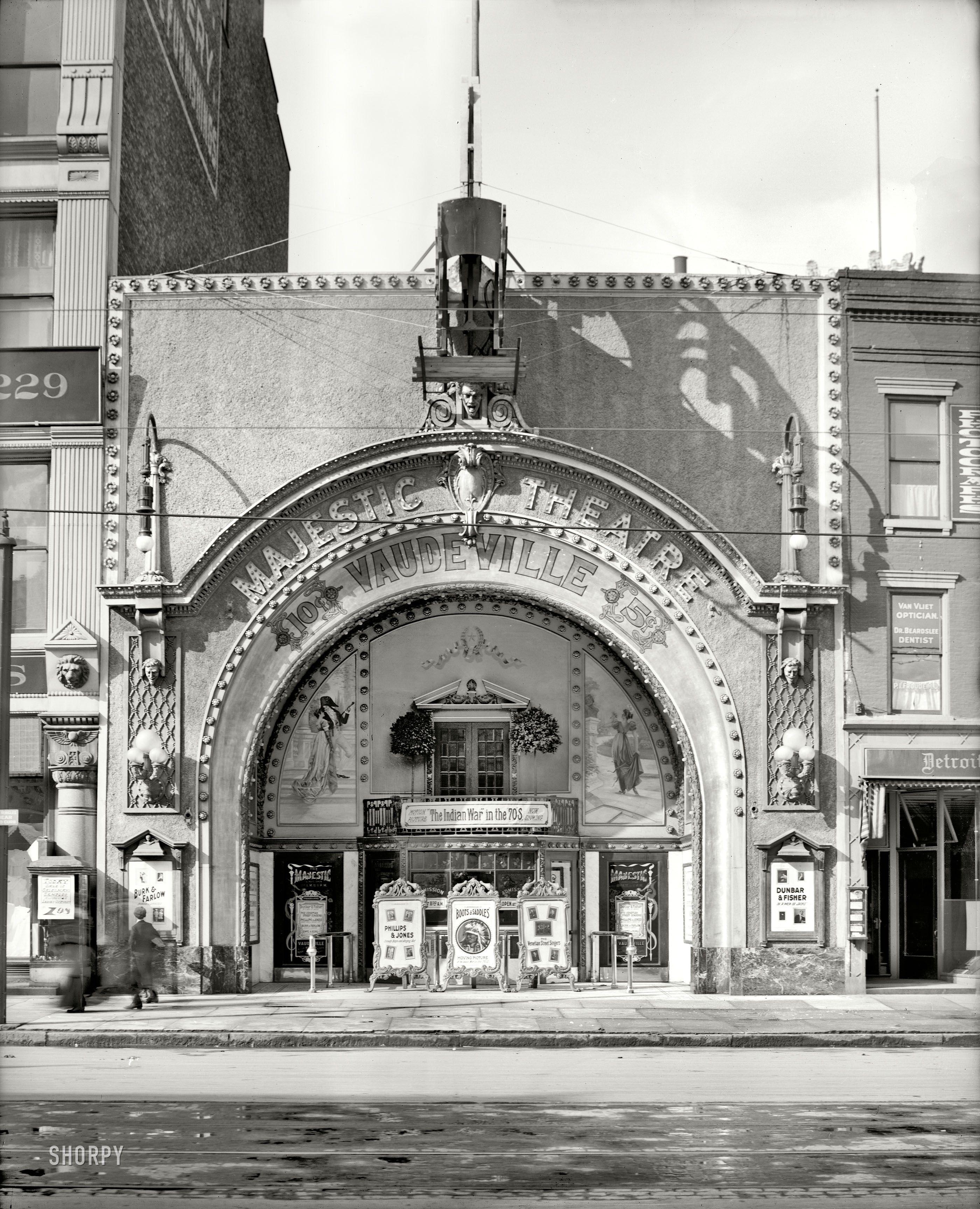 Majestic Theatre Detroit Mi Travel Detroit The Motor
