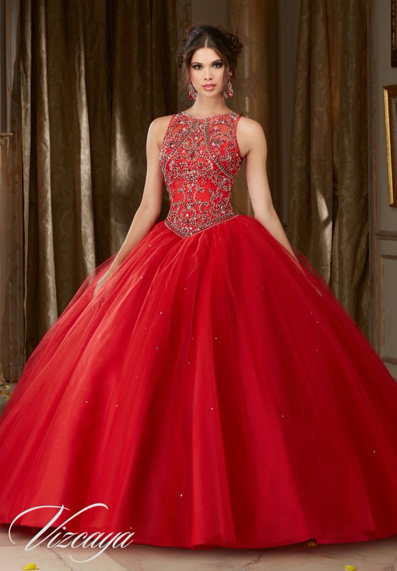 Red quinceanera dress 2017