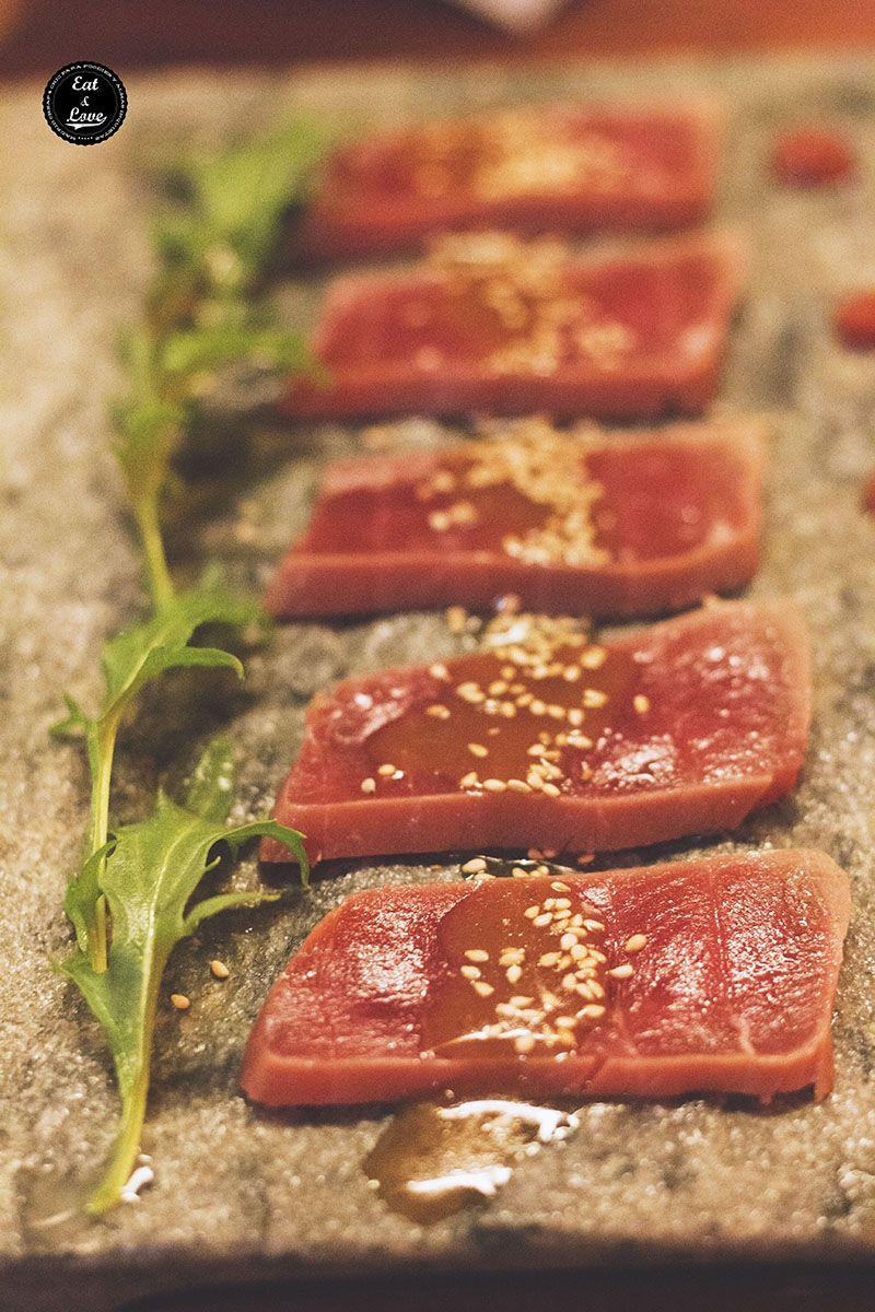 Maguro tataki - Izakaya Hattori Hanzo Madrid - restaurante japonés