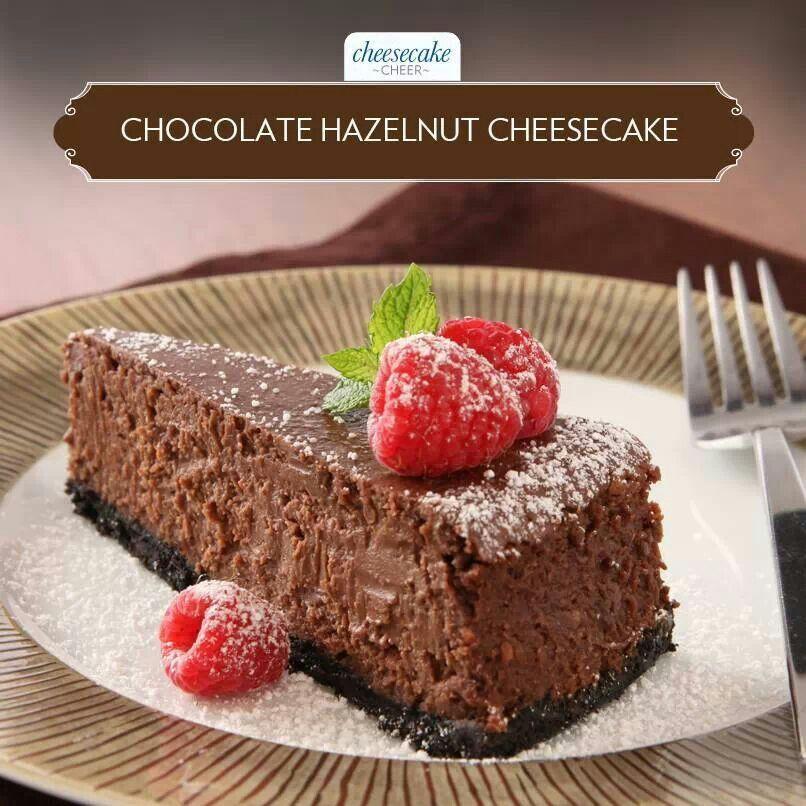 Chocolate hazelnut cheesecake | Yummy food ideas | Pinterest