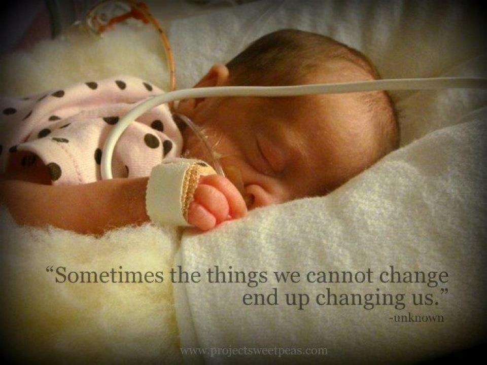 baby in nicu quotes