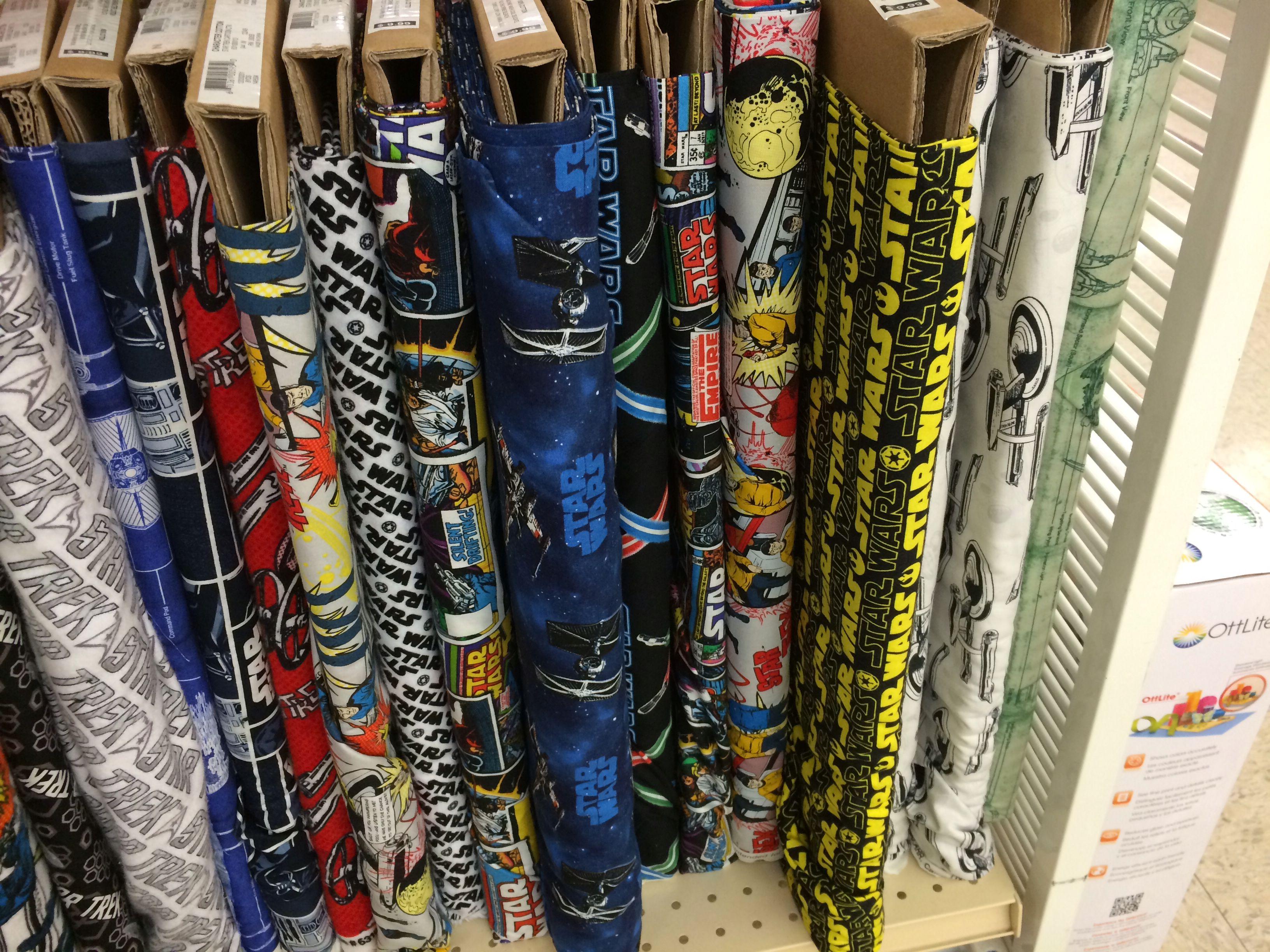 Star wars fabric jo ann fabrics crafts pinterest for Star wars fabric