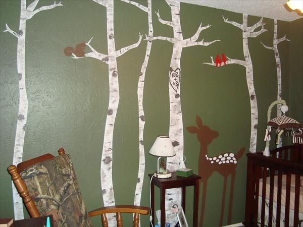 nature themed room my baby boy my little hunting