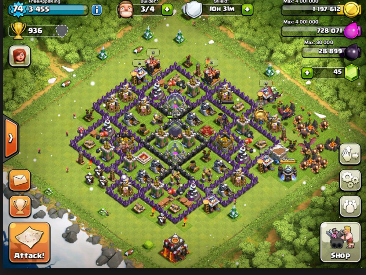 clash of clans achievements missing