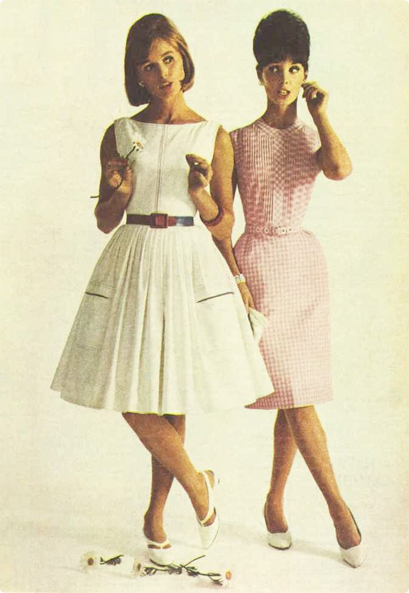 1960 fashion women dresses History of Womens fashion -1900 to 1969 Glamourdaze