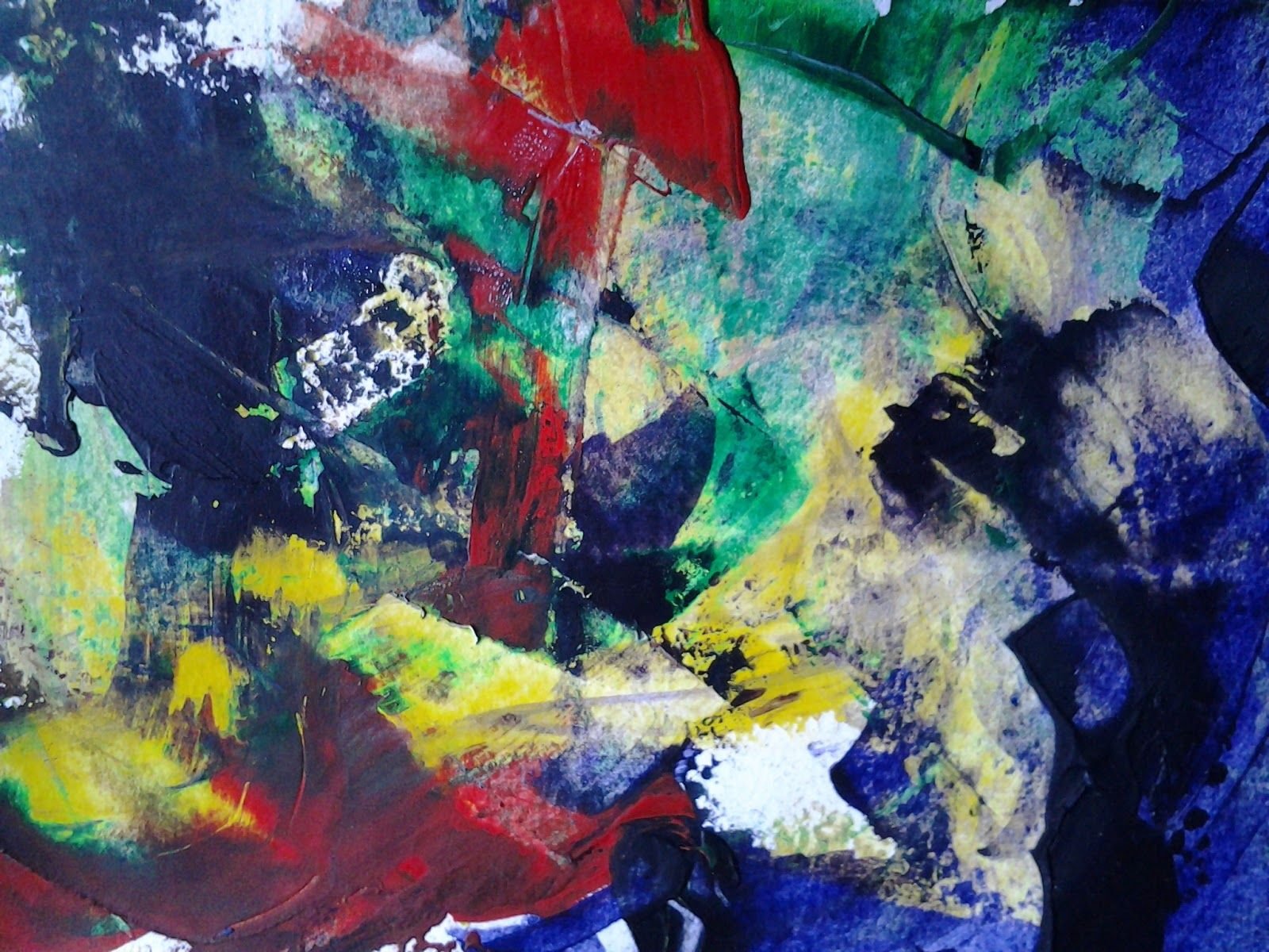 Abstract painting modern art pinterest for Abstract mural paintings