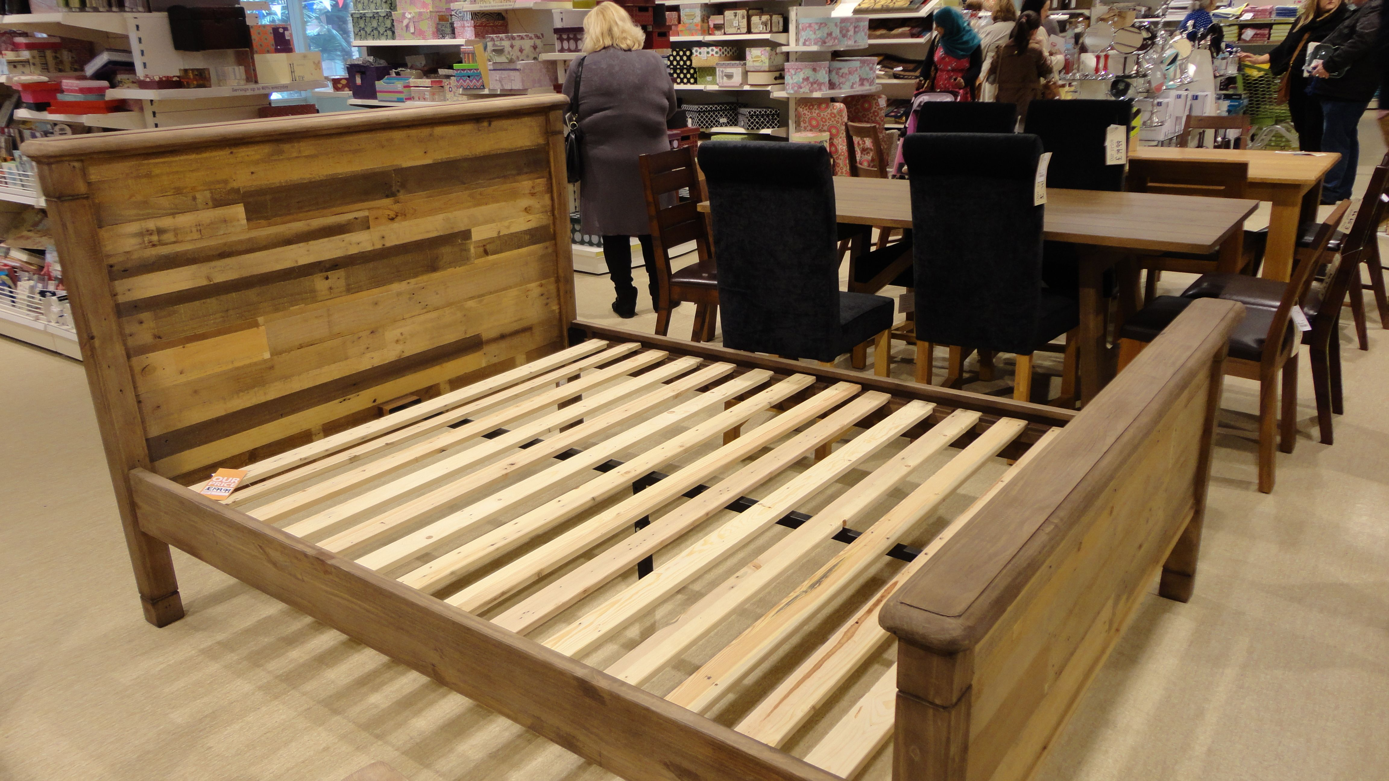 Homesense Wood Bed