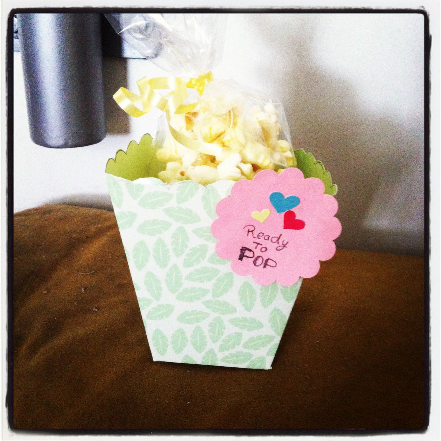 popcorn box baby shower party ideas pinterest