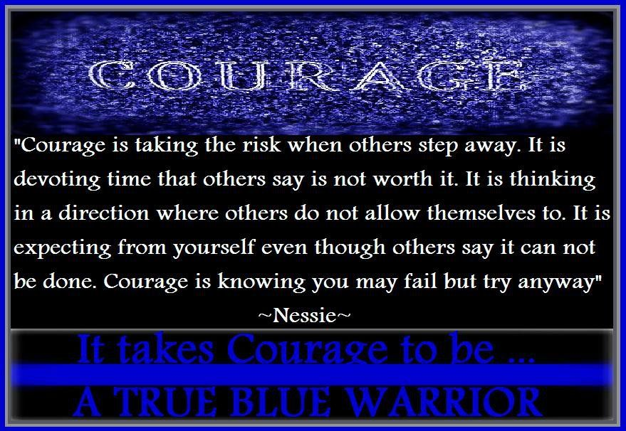 Warrior Quotes For Law Enforcement Quotesgram