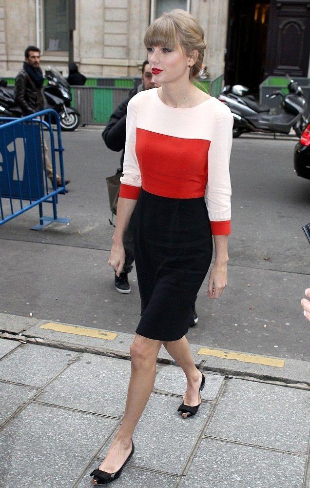 テイラースウィフト 春 ファッション