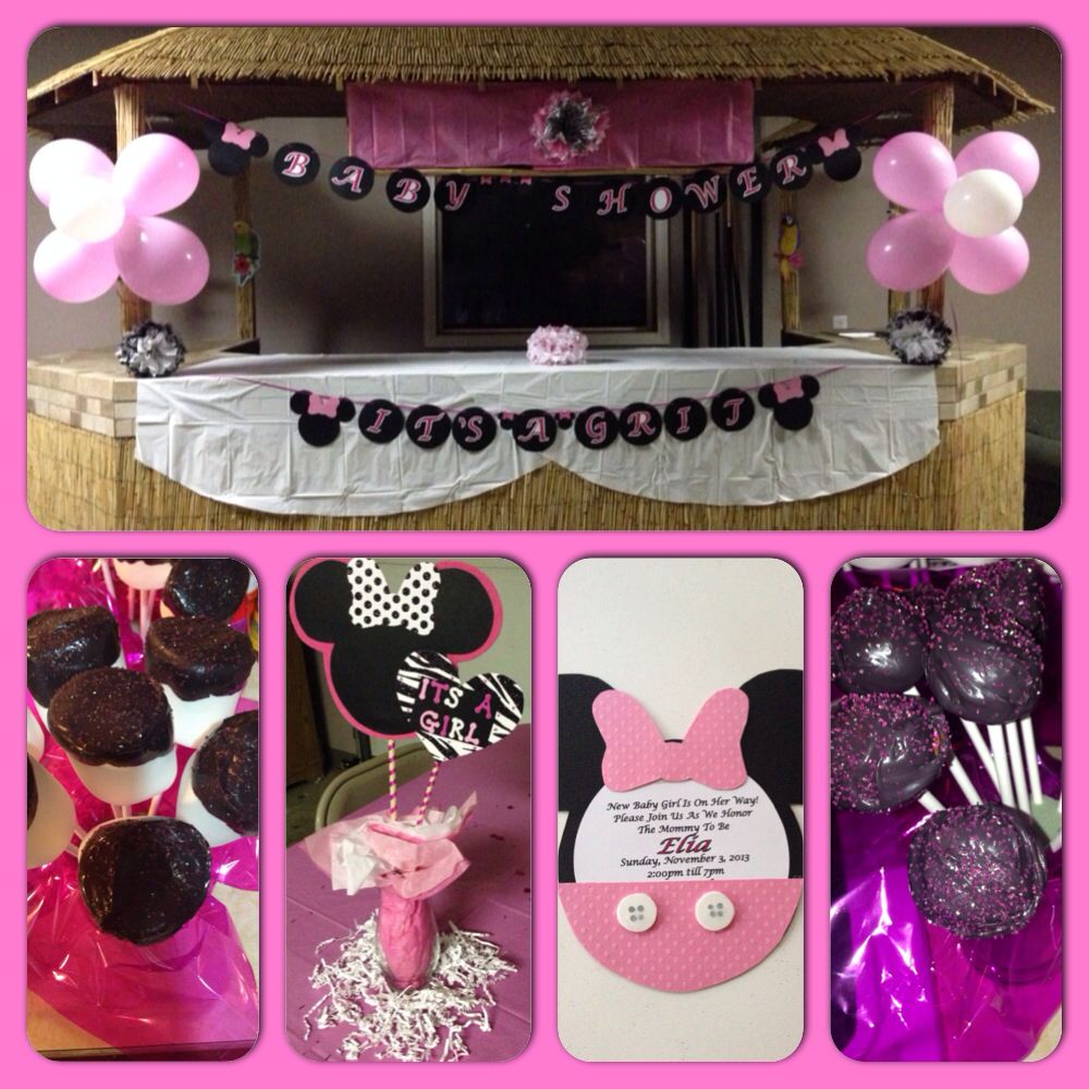 minnie mouse baby shower theme kathies baby shower pinterest