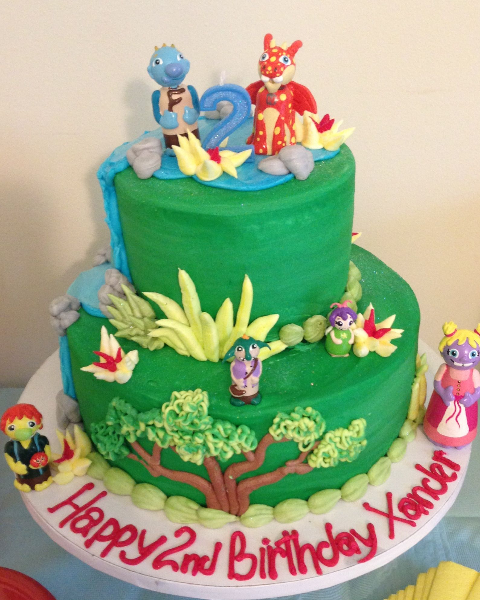 wallykazam cakes