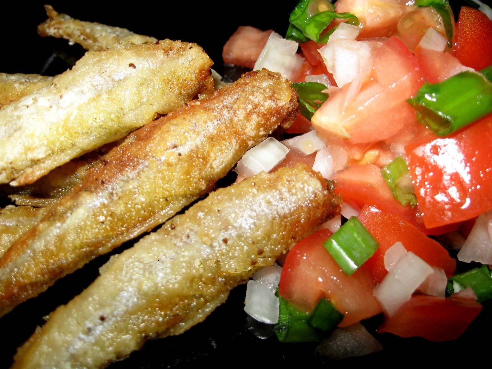 Fried Anchovies | Piqued Pabulum | Pinterest