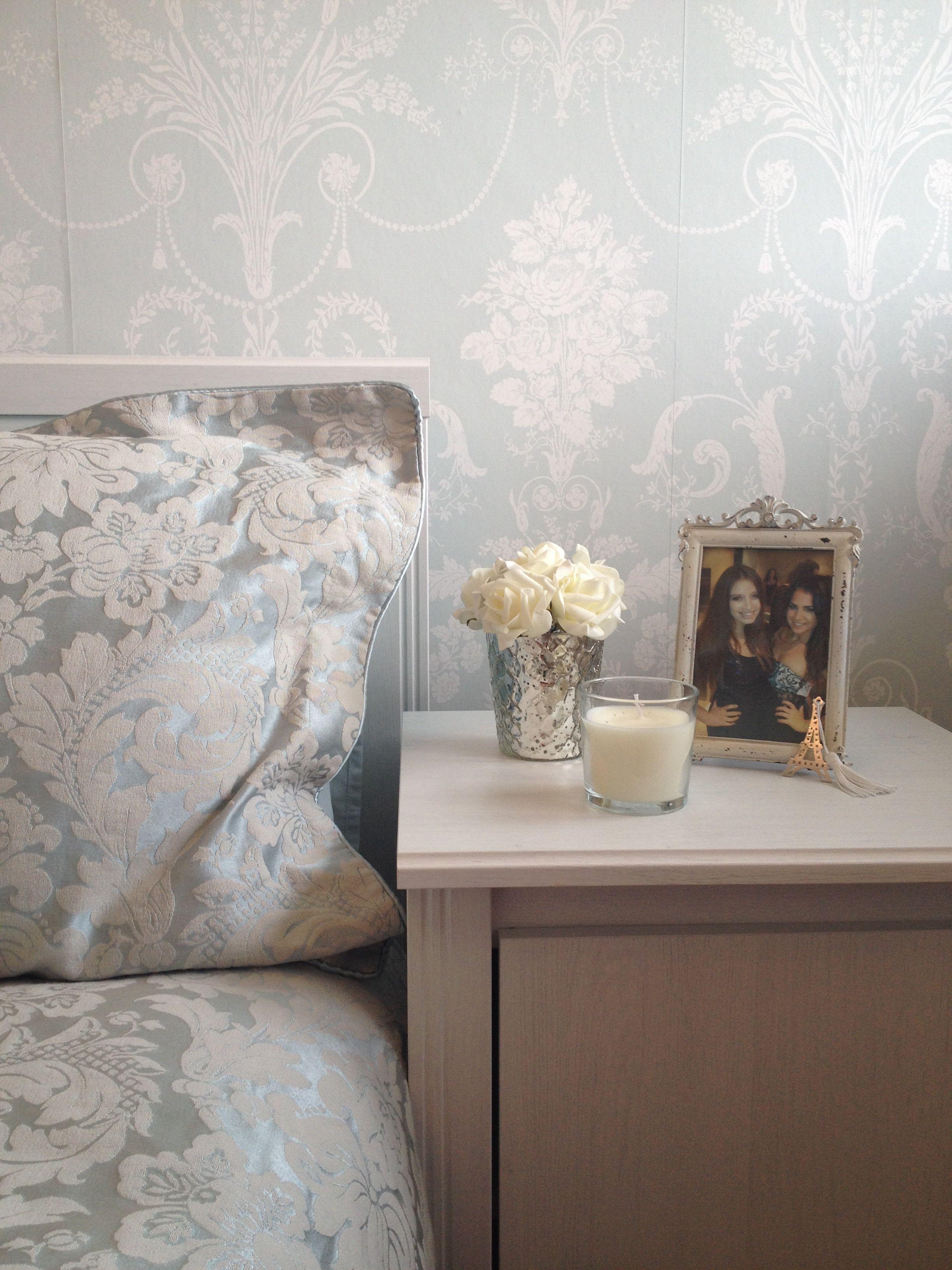 Duck egg bedroom bedrooms pinterest for Duck egg bedroom ideas