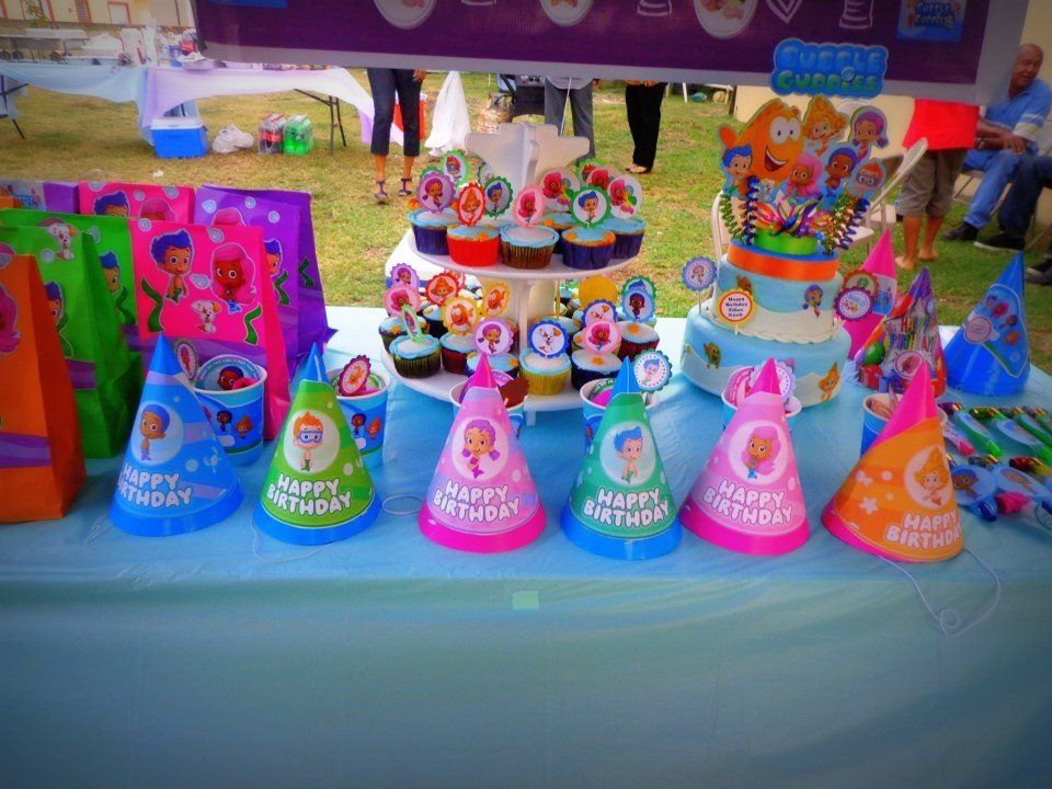 Bubble guppies birthday ideas bubble guppies party pinterest - Bubble guppie birthday ideas ...