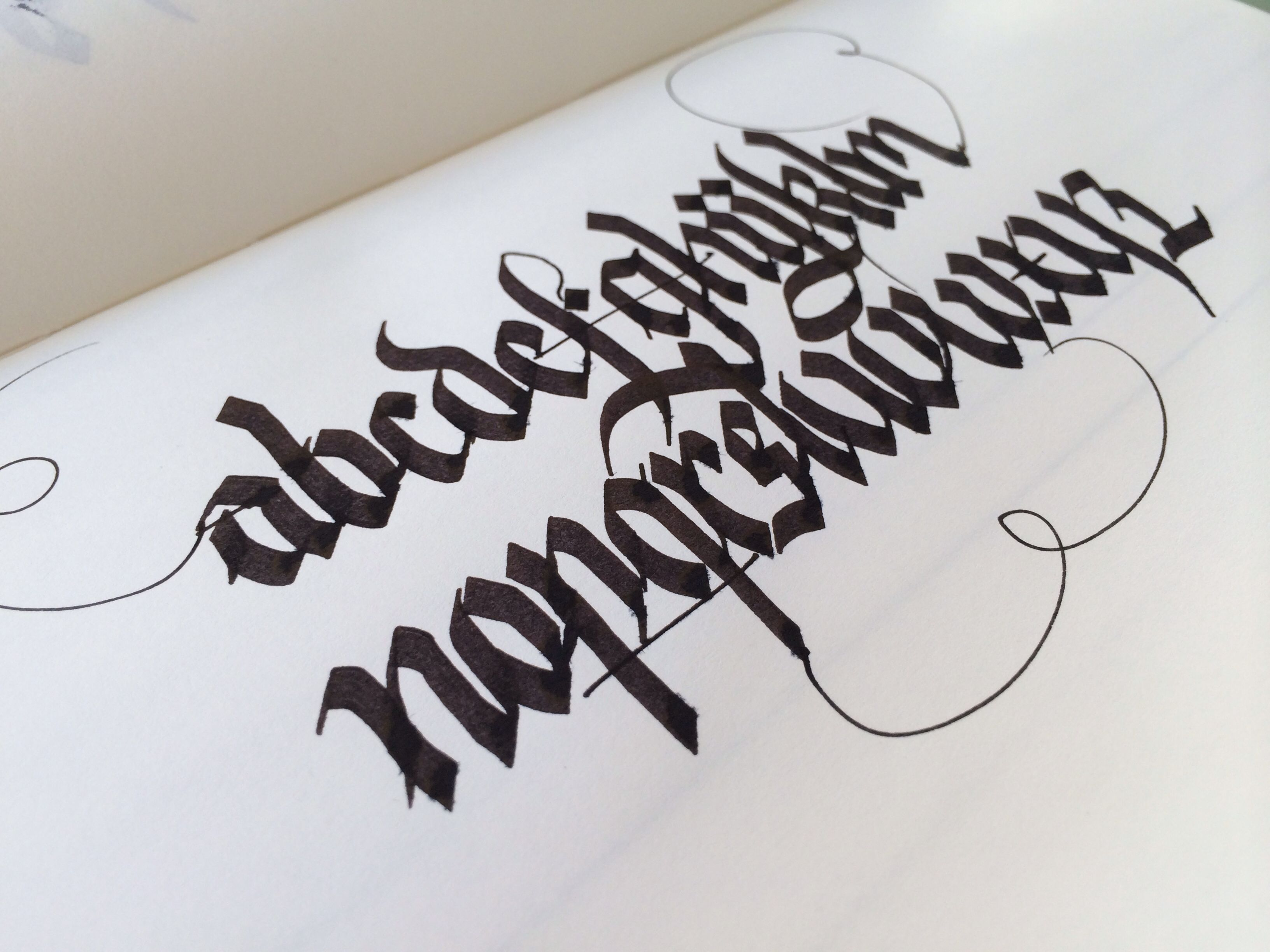 Pin By Andrew Kelly On Calligraphy Fraktur Blackletter
