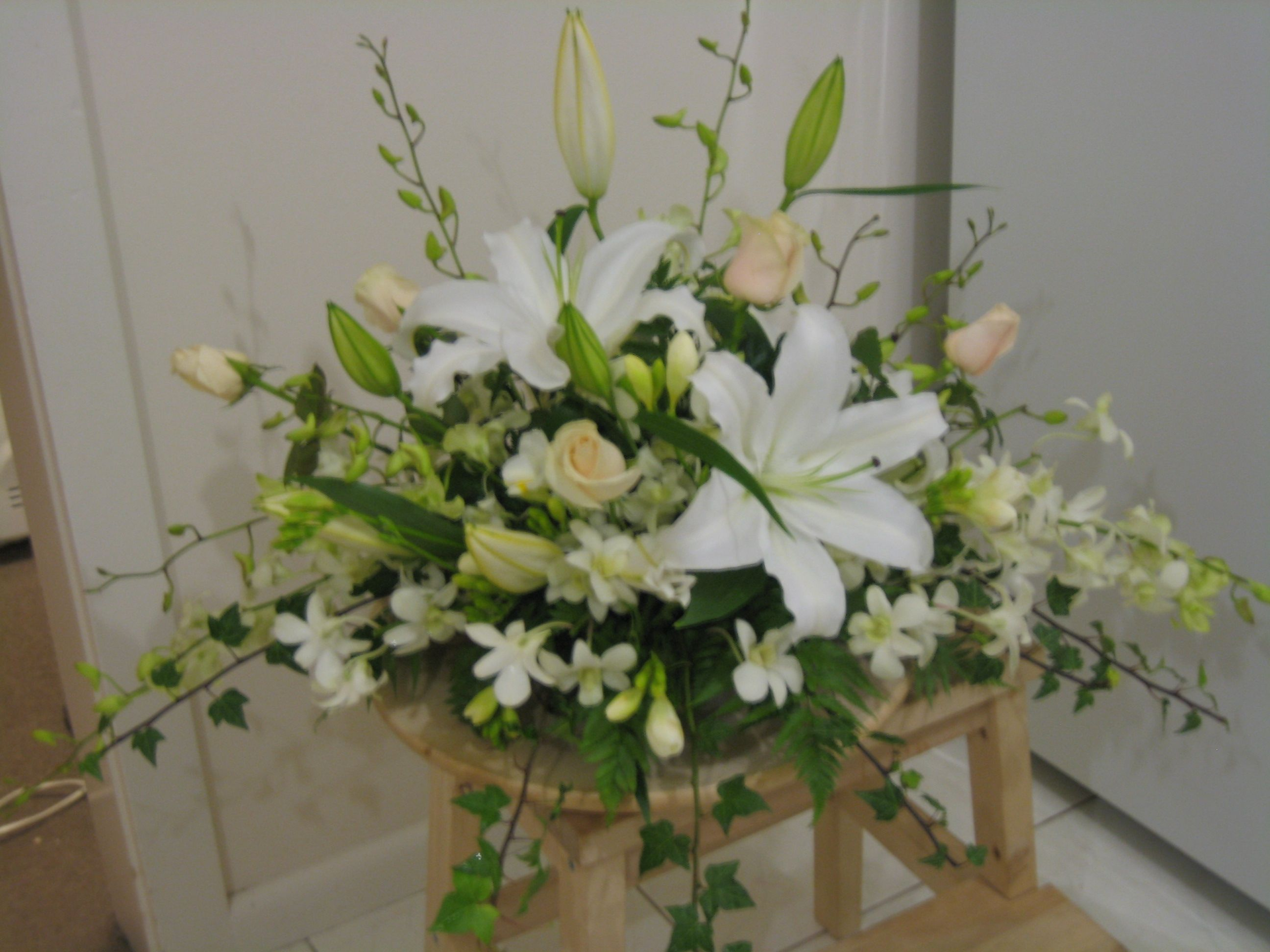 Church Flowers Arrangements Pinterest