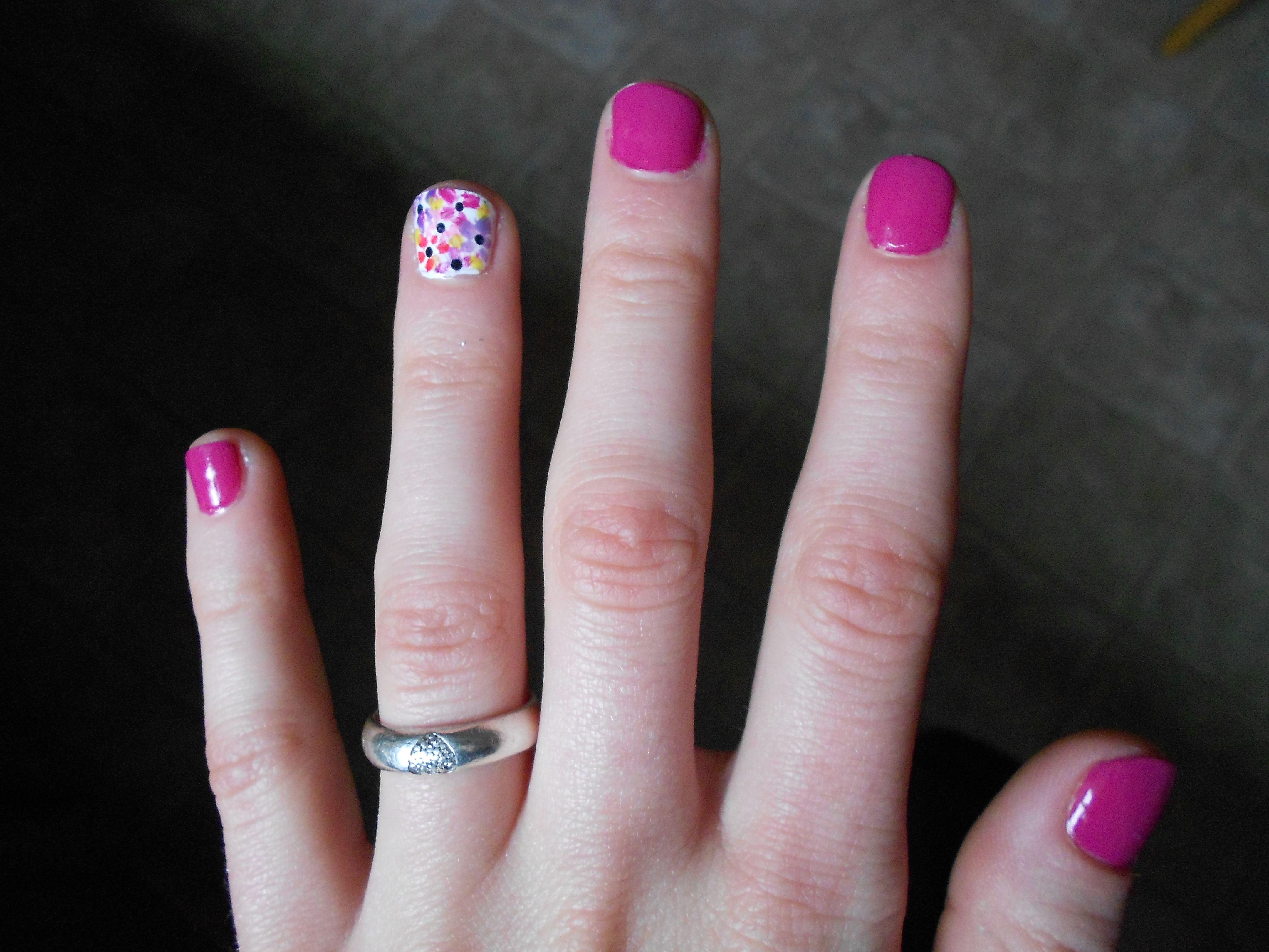 simple nail art   Nails   Pinterest