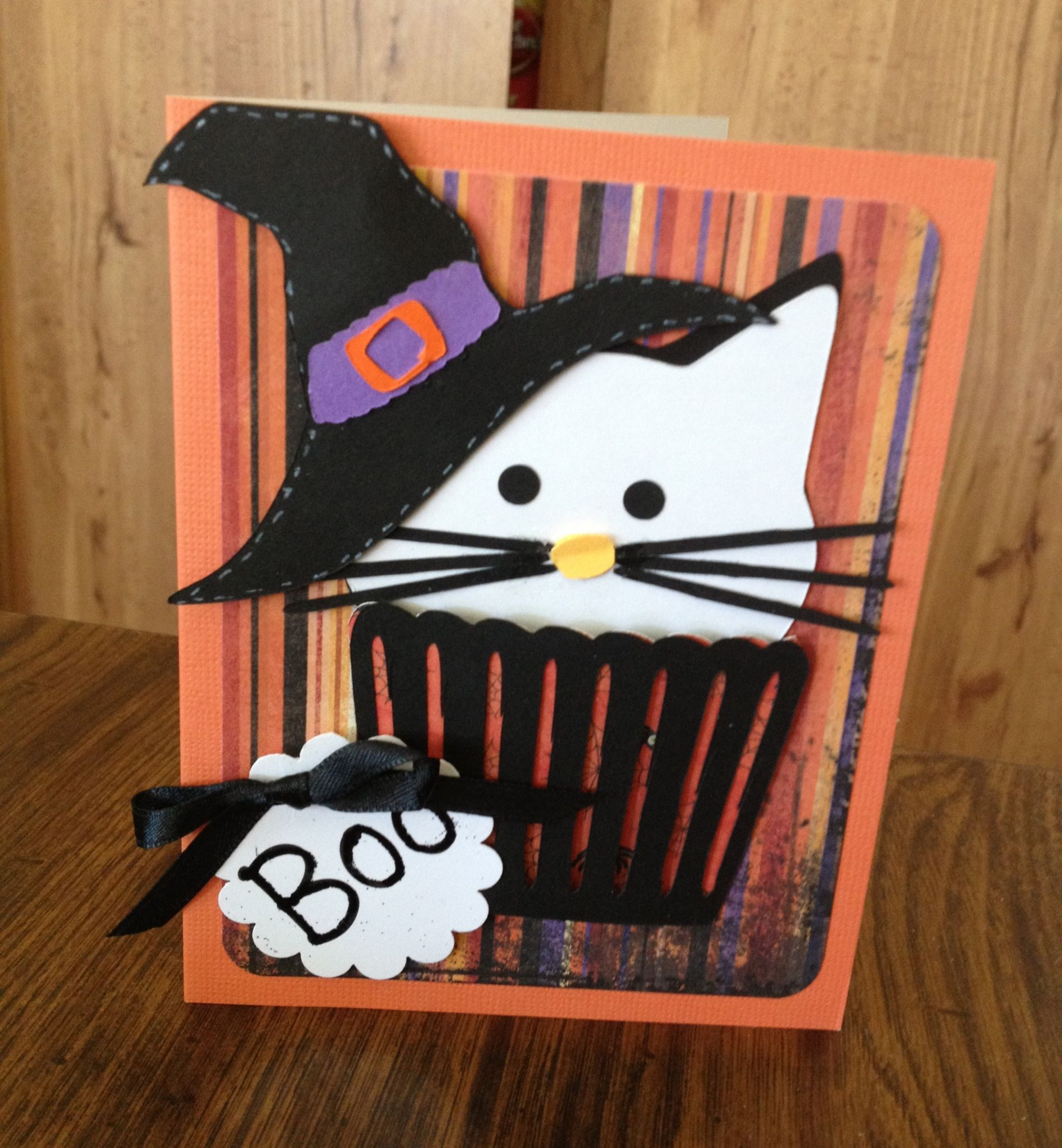 Halloween Kitty. | Homemade Cards & other Paper Projects | Pinterest