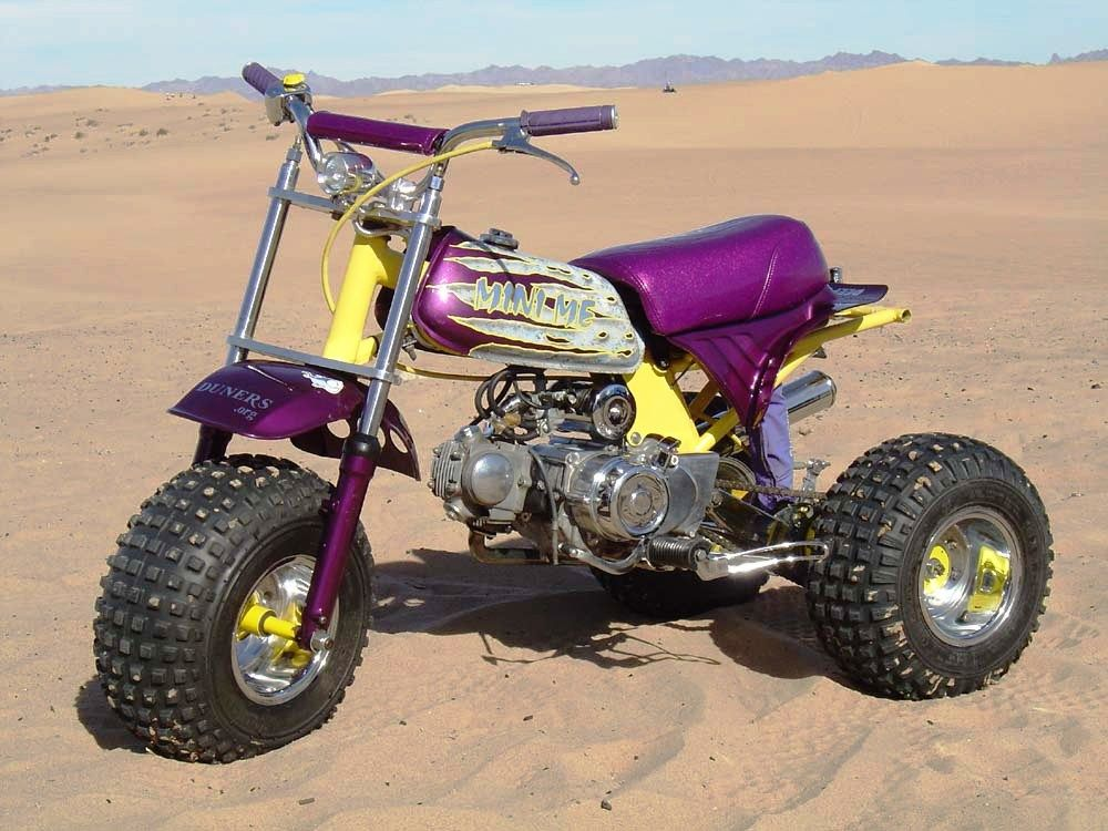 3 Wheel Mini Bike : Custom mini trike car interior design