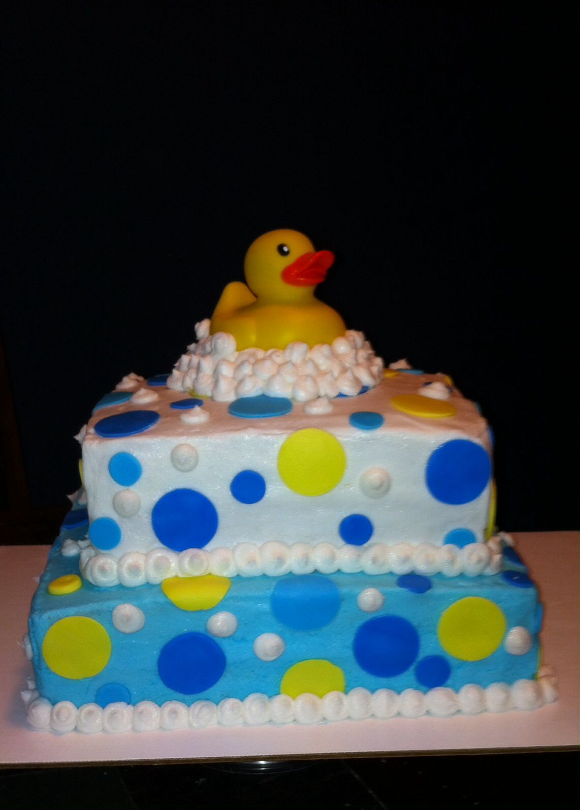 rubber duck baby shower cake my cakes pinterest