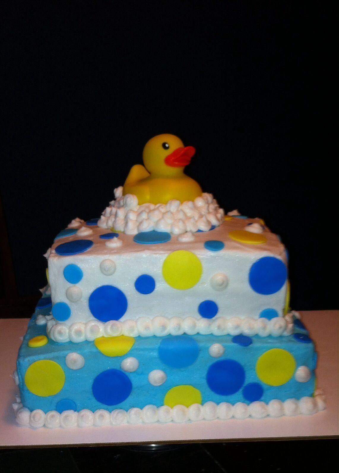 rubber duck baby shower cake my cakes pinterest