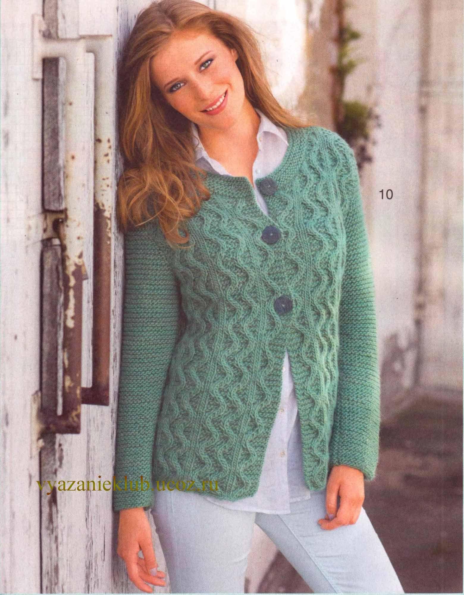 Вязаный жакет, жакет без пуговиц, вязание, вязание для женщин 788