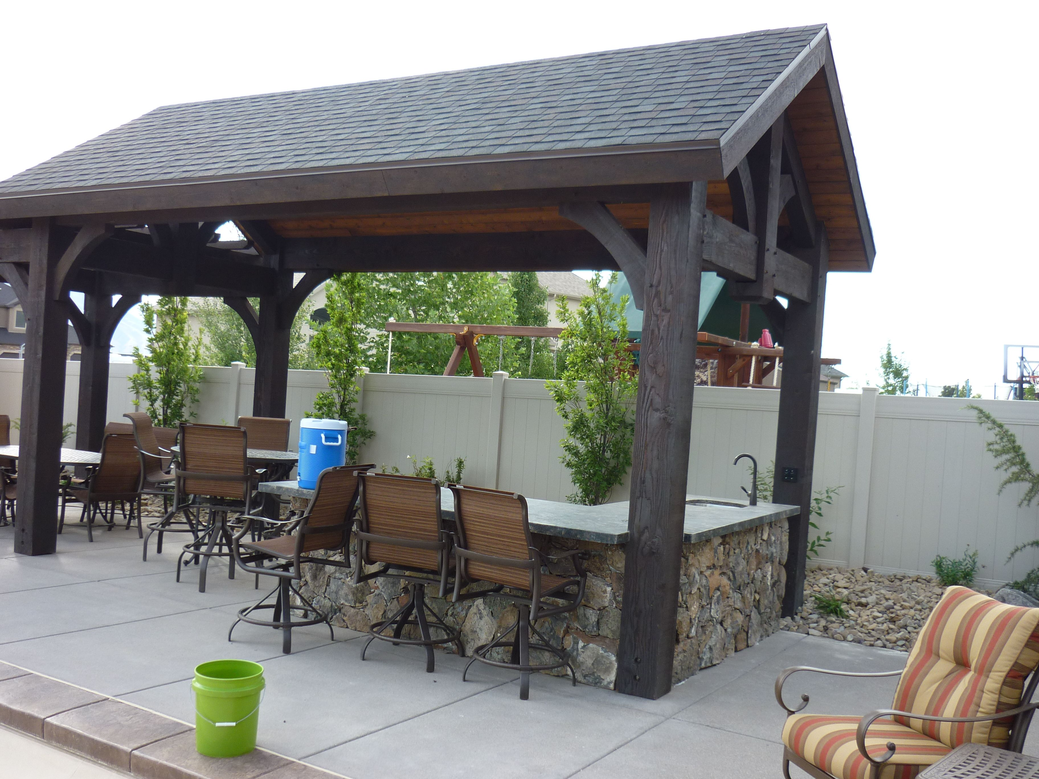 Covered Outdoor Kitchen Google Search Outdoor Kitchen Pinterest – Outdoor Covered Kitchens