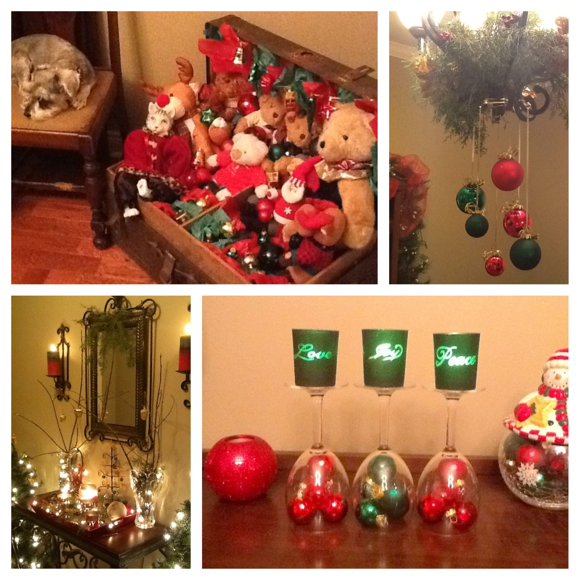 Christmas decorating ideas christmas pinterest for Pinterest christmas decorations for the home