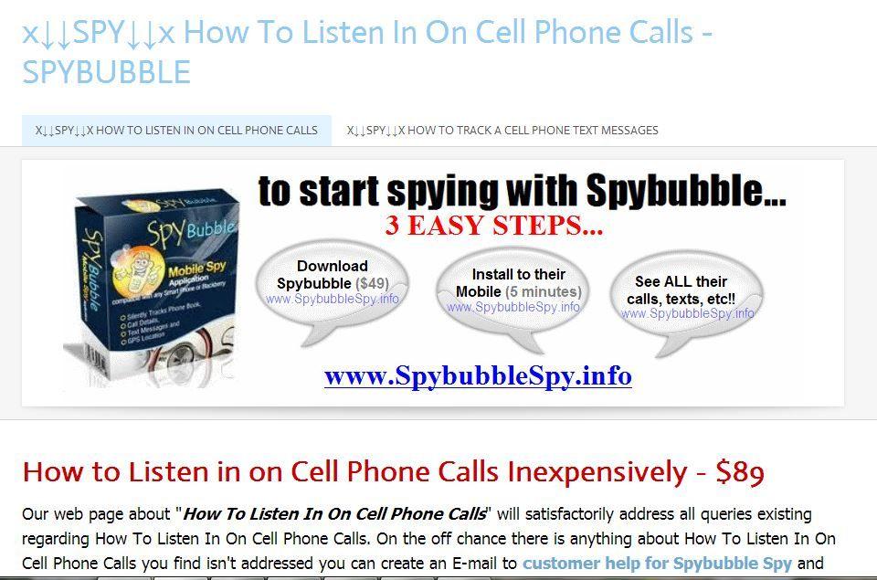 spy phone listening