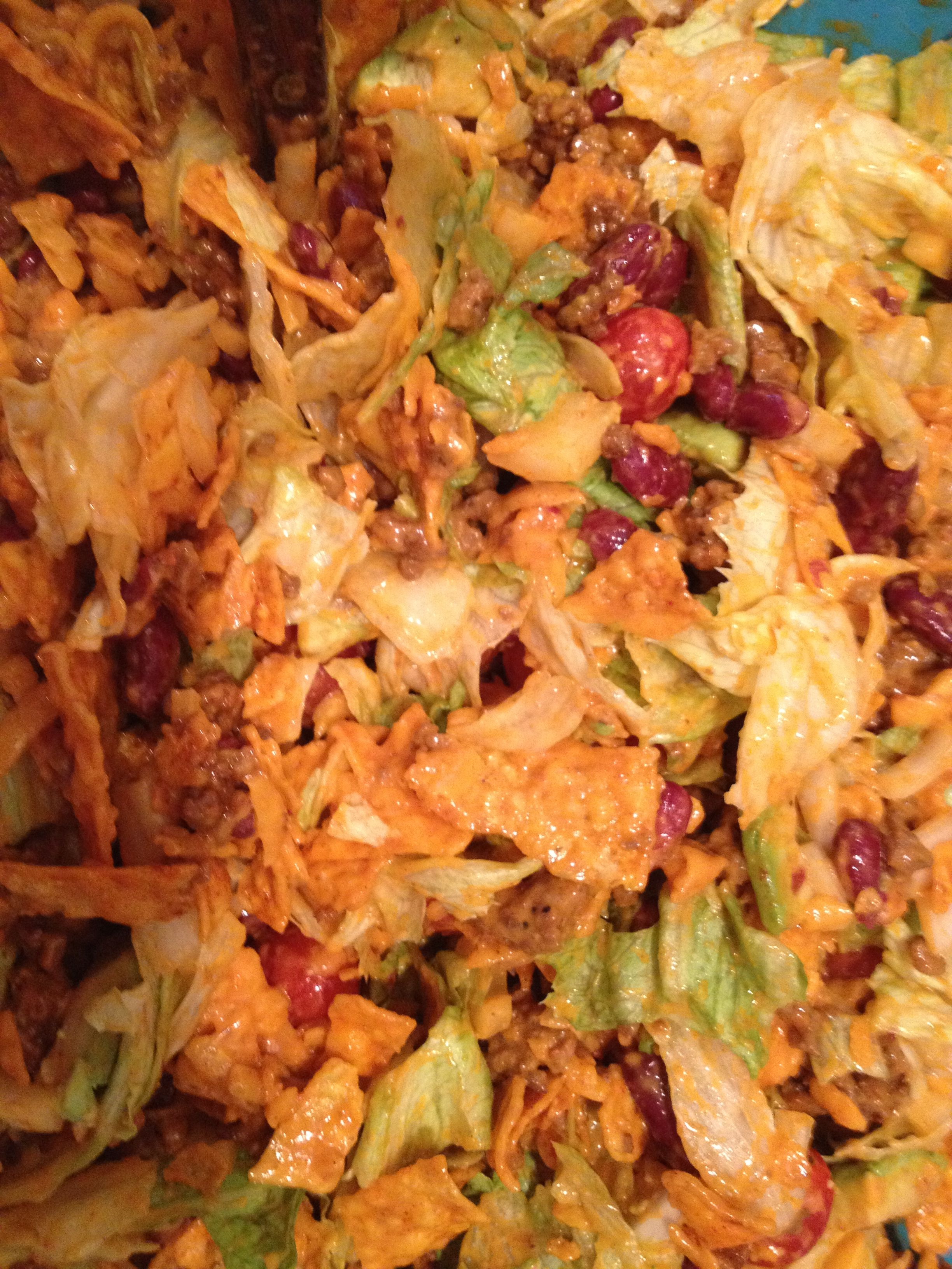 Taco Salad. | Food | Pinterest